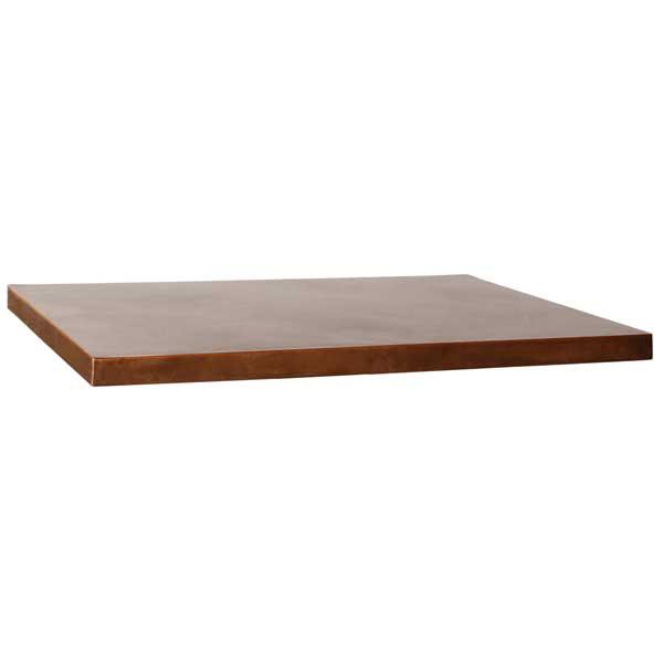 METAL TABLE TOPS