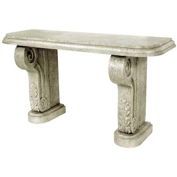 Cast Stone Console Furniture Custom Made