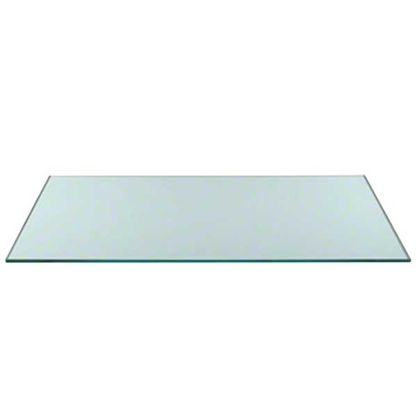rectangle glass table top Thick glass table tops with flat polished edges or beveled edges rectangle glass table top