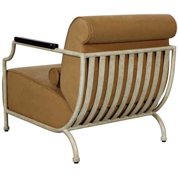 Lounge Fauteuil Houston.Zephyr Lounge Chair Metal Lounge Chair Art Deco Lounge Chair