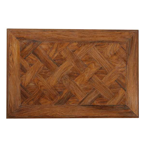 WOOD PARQUETRY TABLE TOPS
